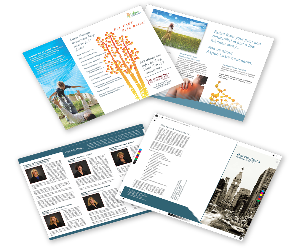 Brochure Trifold AspenLasers Business Consulting New Ride Design SEO Best business development Colorado