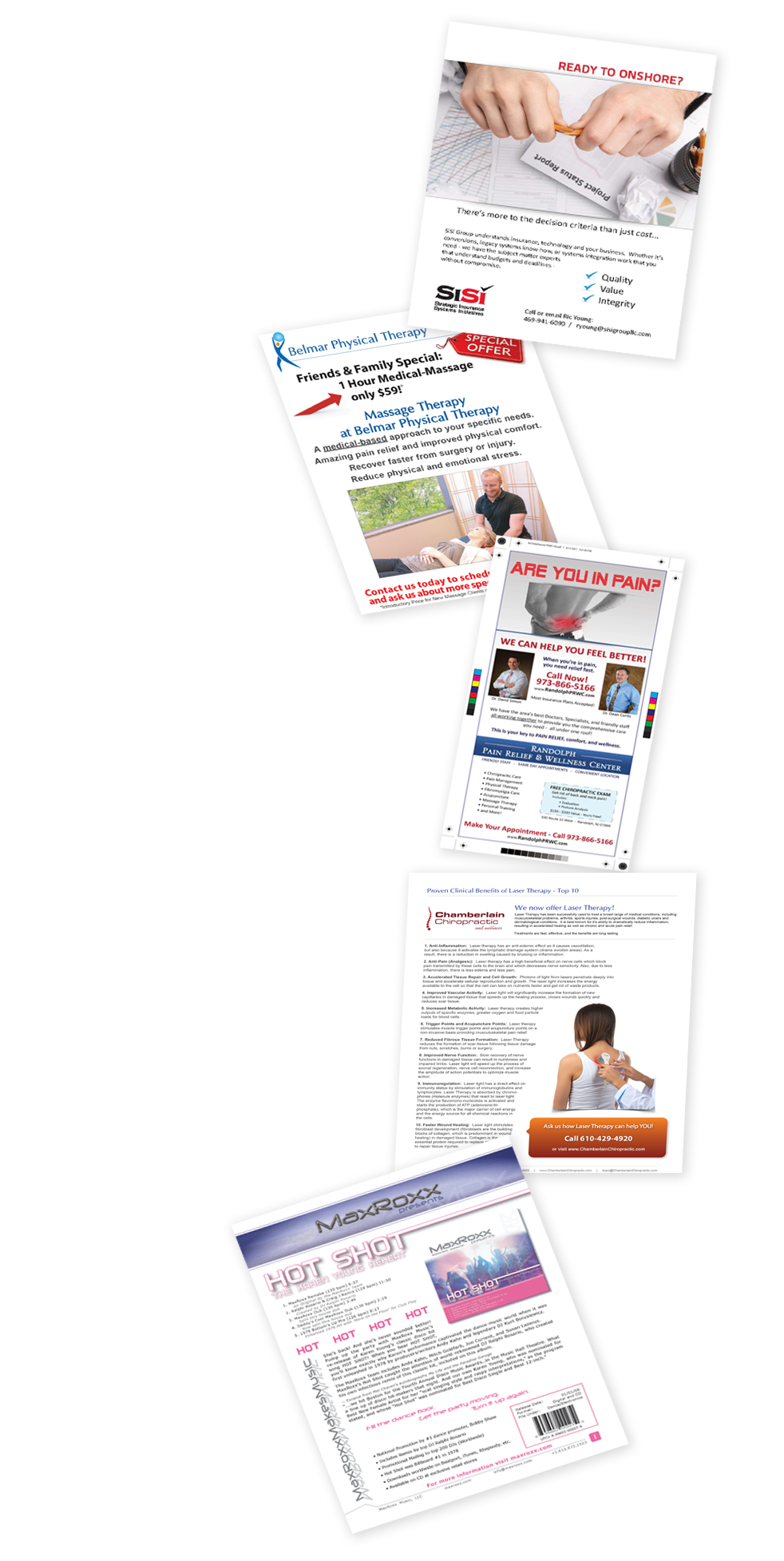Print Media Marketing Materials Business Consulting New Ride Design SEO Best business development Colorado